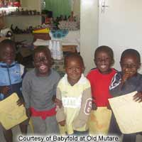 Babyfold at Old Mutare Fairfield Children's Home