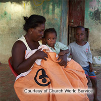 Church World Service, Blankets and Tools